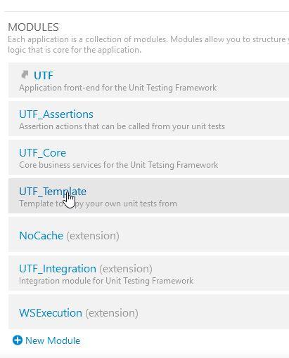 UTFTemplatを選択